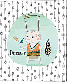 Bunny Discovery by Jo Moulton Canvas Art