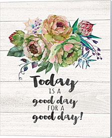 Today is a Good Day by Jo Moulton Canvas Art
