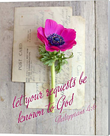 Request to God by Sarah Gardner Canvas Art