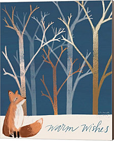 Warm Wishes Fox by Katie Doucette Canvas Art