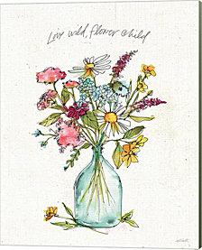 Simply Petals II by Anne Tavoletti Canvas Art