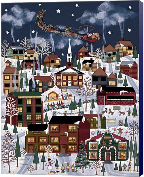 Metaverse The North Pole 3 By Medana Gabbard Canvas Art