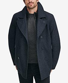 Marc New York Men's Emmett Wool Peacoat