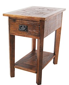 Revive - Reclaimed Chairside Table, Natural