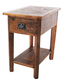 Rustic - Reclaimed Chairside Table