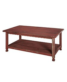 """Country Cottage 42""""L Coffee Table"""