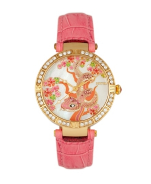 Quartz Mia Collection Pinkleather Watch 38Mm