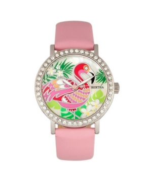 Quartz Luna Collection Light Pink Leather Watch 35Mm