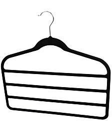Sunbeam Velvet Trouser Hanger, Pack of 3
