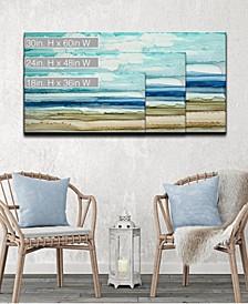 'Beach Shore' Abstract Canvas Wall Art Collection
