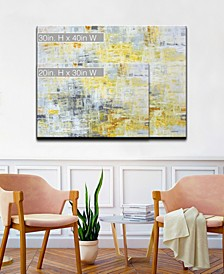 'Joy Inside' Abstract canvas Wall Art Set Collection