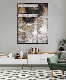 'Neutral Geode II' Abstract Canvas Wall Art Collection