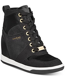 bebe Sport Charlane Wedge Sneakers