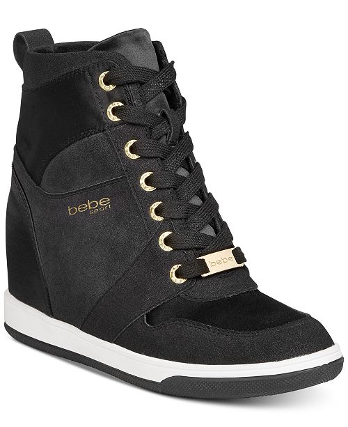 6c6df5f7a54 bebe Sport Charlane Wedge Sneakers & Reviews - Athletic Shoes ...