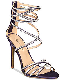 Zigi Soho Bernadette Strappy Embellished Dress Sandals