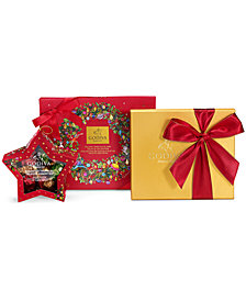 Godiva Chocolatier 16-Pc. Gift Box, 19-Pc. Gold Ballotin & Wrapped Chocolate Star