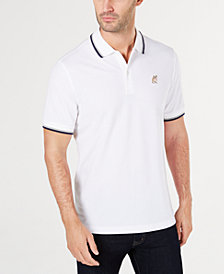 Club Room Men's Regular- Fit Stretch Bulldog Chest-Logo Polo, Created for Macy's