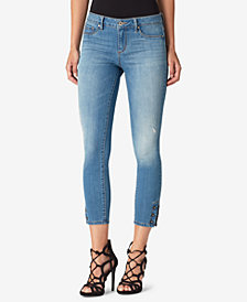 Jessica Simpson Juniors' Kiss Me Super Skinny Ankle Jeans