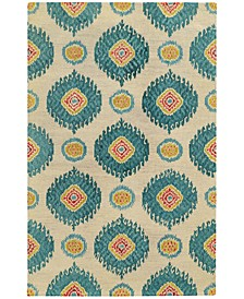 Home  Jamison 53306 Beige/Blue Area Rug