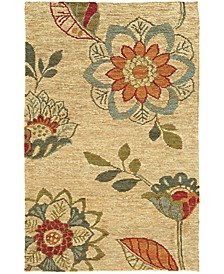 Home  Valencia 57709 Beige/Multi Area Rug