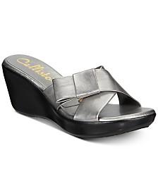 1a859c32d4ec Callisto Willowe Slide Platform Wedge Sandals