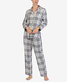 Lauren Ralph Lauren Printed Cotton Pajama Set