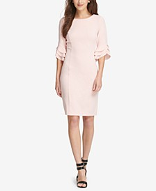 Triple Ruffle-Sleeve Dress, Created for Macy's