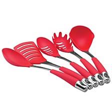 Harmony 5-Piece Nylon Tool Set, Red
