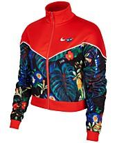 5ef2b3ef2acc Nike Sportswear Ultra-Femme Printed Cropped Track Jacket