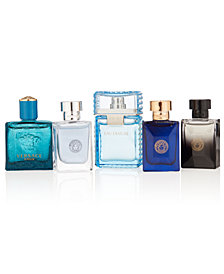 Versace Men's 5-Pc. Deluxe Miniature Fragrances Gift Set, Created for Macy's