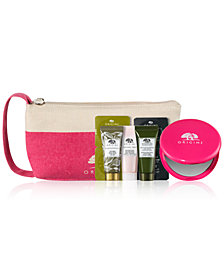 Receive a Complementary Holiday Must Haves 4pc Gift with any $65 Origins purchase