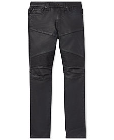 Polo Ralph Lauren Little Boys Eldridge Skinny Stretch Moto Jeans