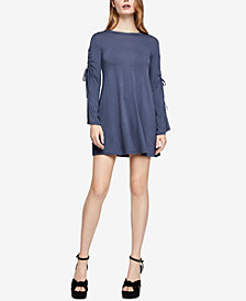BCBGeneration Cutout-Sleeve A-Line Dress
