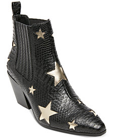 Betsey Johnson Izak Star Western Booties
