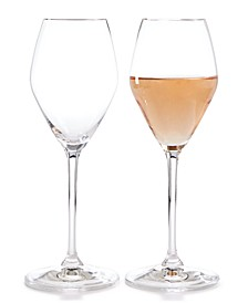 Extreme Rose Wine Glasses, Set of 2