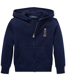 Polo Ralph Lauren Little Boys Polo Bear Fleece Hoodie