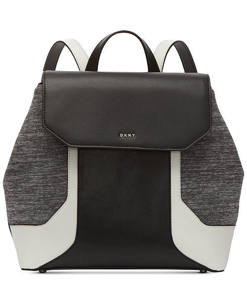 DKNY Jade Flap Backpack, Created for Macy's