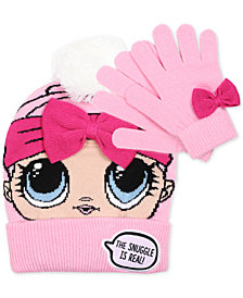 L.O.L Surprise! Big Girls 2-Pc. Hat & Gloves Set