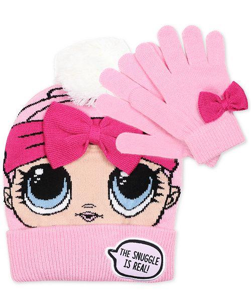 efd5610d31b LOL Surprise! L.O.L Surprise! Big Girls 2-Pc. Hat   Gloves Set - All ...