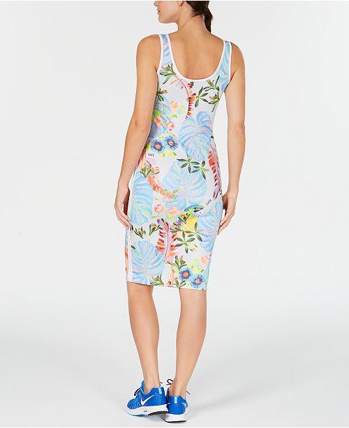 4e53ff6948cf92 Nike Sportswear Ultra-Femme Floral-Print Tank Dress - Dresses ...