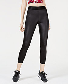 Material Girl Juniors' Elastic-Waist Leggings, Created for Macy's