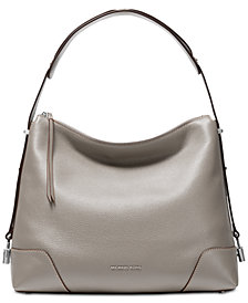 MICHAEL Michael Kors Crosby Pebble Leather Shoulder Bag
