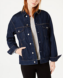 Calvin Klein Jeans Cotton Denim Trucker Jacket