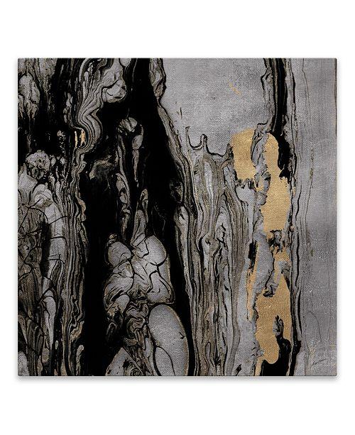 "Artissimo Designs Elemental Gold Printed Aluminum Art - 30"" W x 30"" H x 0.75"" D"
