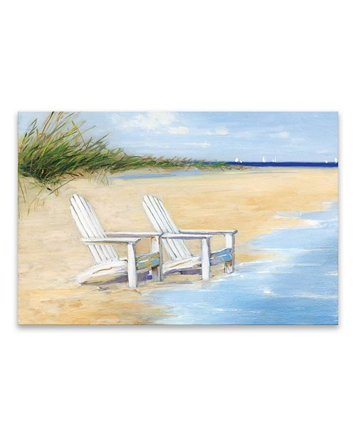 Artissimo Designs Water View Printed Canvas