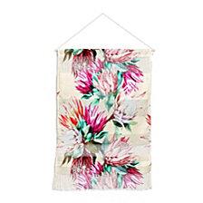 "Deny Designs Marta Barragan Camarasa King Proteas Bloom 02 Wall Hanging Portrait, 22""x32"""