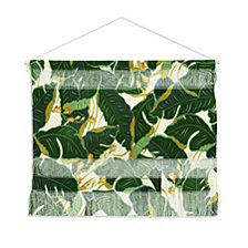 "Deny Designs Iveta Abolina Jungle Polka Wall Hanging Landscape, 22""x16"""