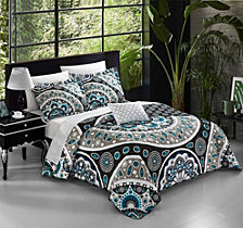 Chic Home Lucena 8 Pc Queen Quilt Set