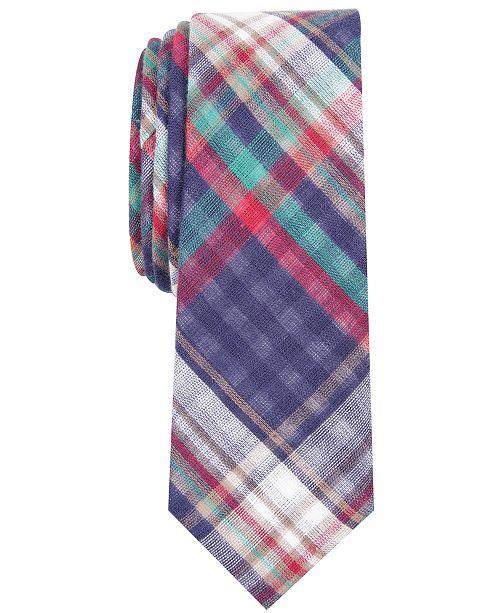 da844dc2775c Penguin Men's Beale Skinny Plaid Tie; Penguin Men's Beale Skinny Plaid ...