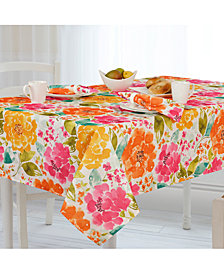 """Elrene Evelyn Indoor/Outdoor 60"""" x 102"""" Tablecloth"""